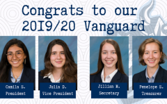 Student Government Vanguard Election Results