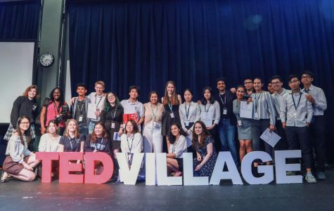 The Ted-Ed Club posing for a photo before their event