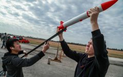 Village Rocketry Club Launch at Johnson Space Center (Gallery)