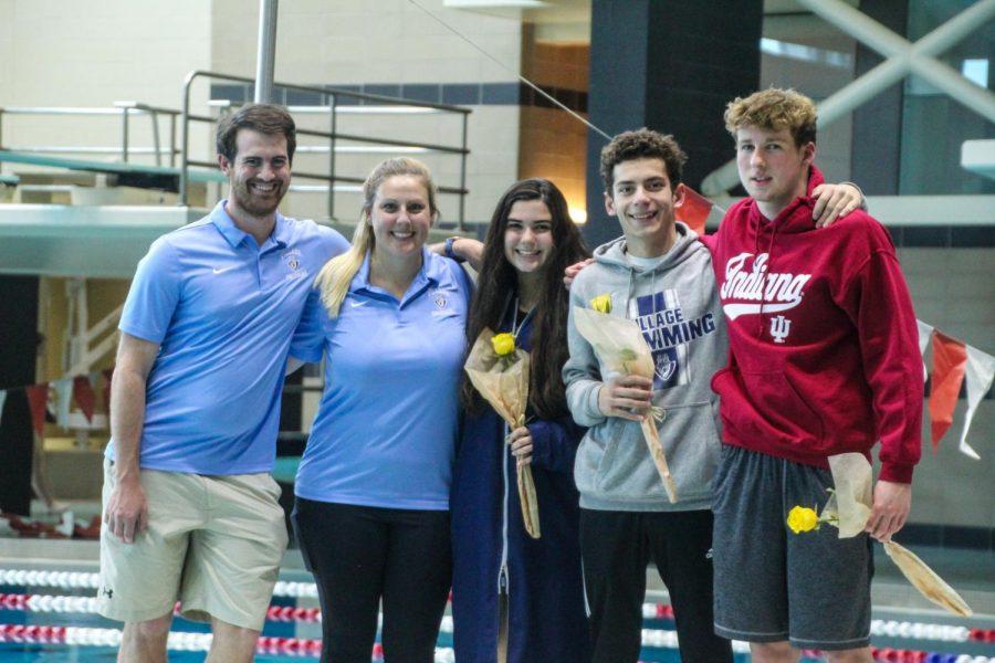 Varsity Swim Senior Meet (Gallery)