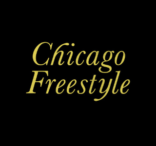 "This is a photo of the artwork for ""Chicago Freestyle"""