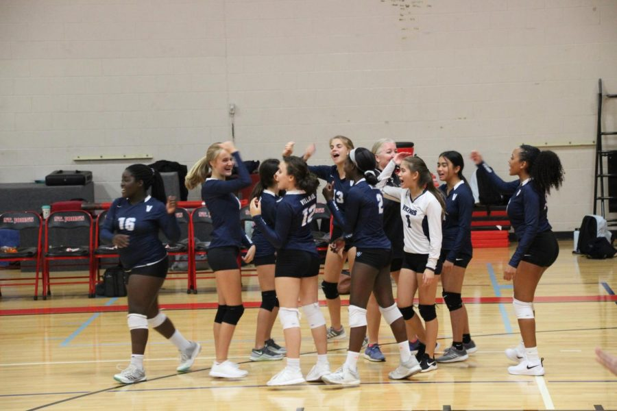 Middle School Girls Volleyball vs. St. John's Highlights (Gallery)