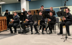 The Jazz Band plays at Rice University.