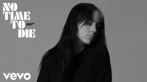 The song cover of Billie Eilish's new song No Time to Die