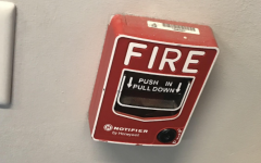 Picture of fire alarm taken by author