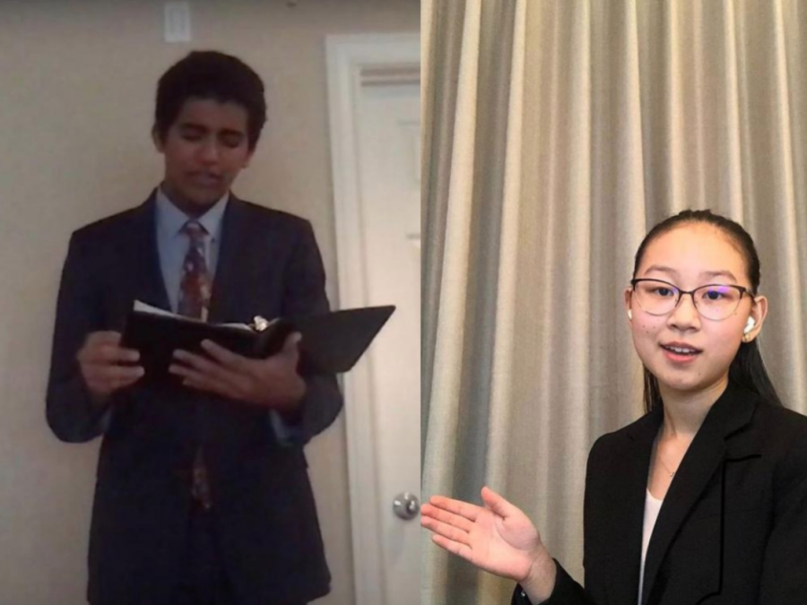 How the VHS Speech & Debate Team adapted to virtual competition