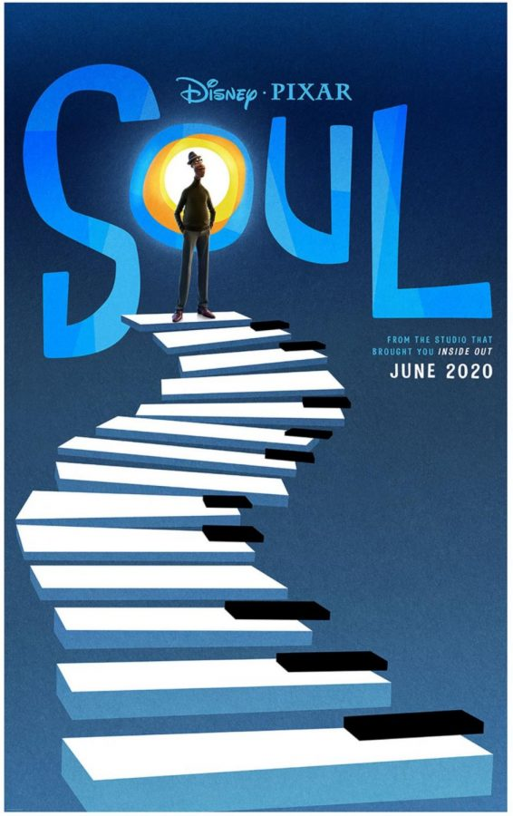 Poster for Soul (before COVID-19 delayed the release)