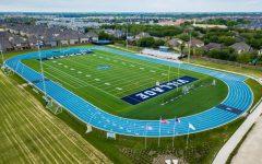 Photo of the school's football field