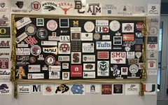 The college acceptance board that sits in the college counseling hallway boasts many early acceptances for the class of 2021.
