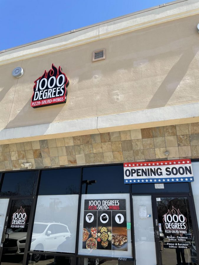 A new pizza location will be opening soon, just around the corner from The Village School.