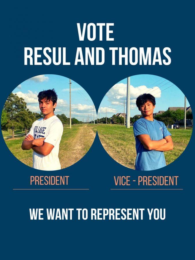 Resul Ovezov and Thomas Chin