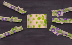 Pictured are commonly used menstrual products.